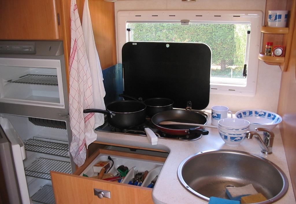 cuisine camping car